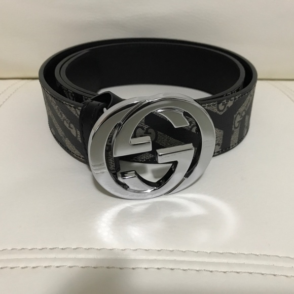 3687591fd Gucci Accessories   Like New Authentic Men Caleido G Buckle Belt ...